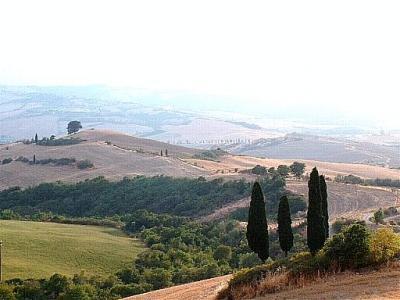 collines toscanes
